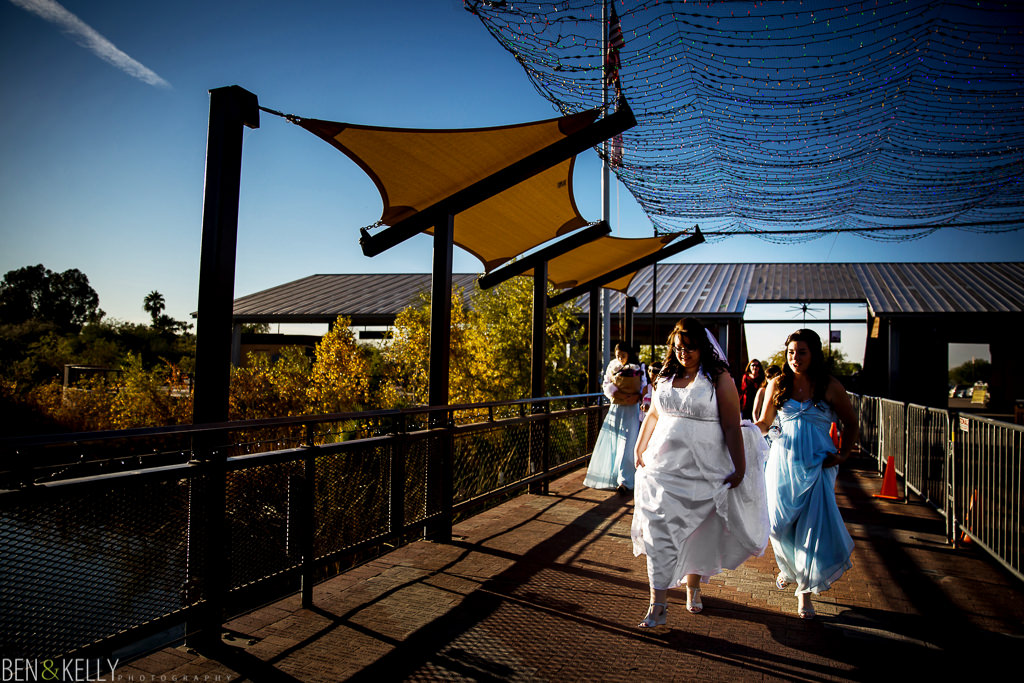bridal party - bride - phoenix zoo - weddings - wedding - weddings at the phoenix zoo - phoenix zoo wedding - benandkellyphotography