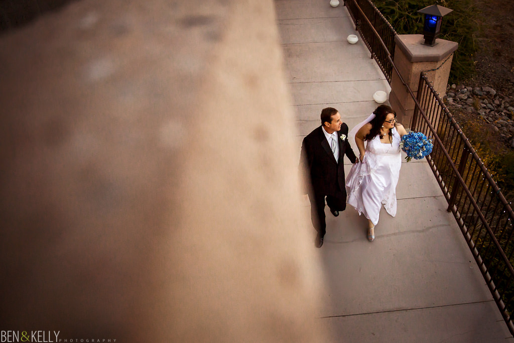 bride and father of the bride - father - father of the bride - ceremony - phoenix zoo - weddings - wedding - weddings at the phoenix zoo - phoenix zoo wedding - benandkellyphotography