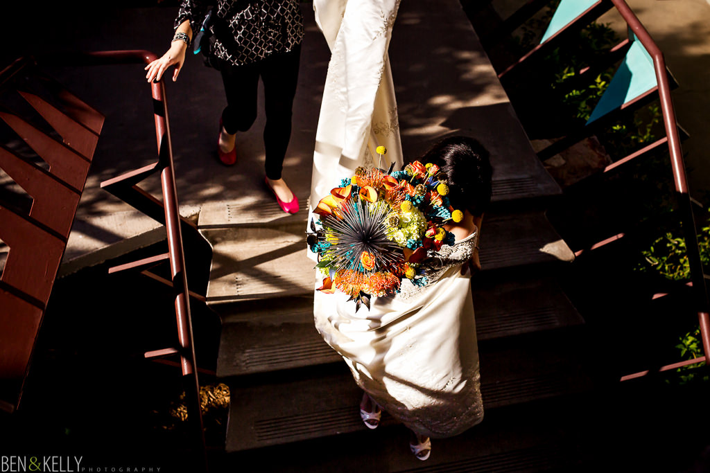 Outdoor Wedding at the Valley Ho Hotel in Scottsdale