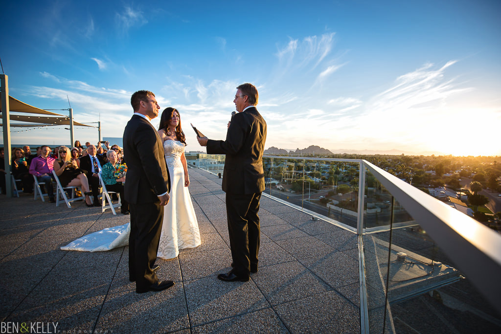 Valley Ho Hotel Outdoor Wedding