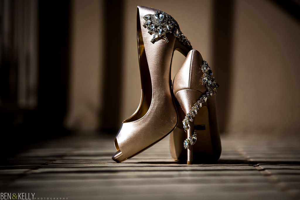 bridal shoes - benandkellyphotography