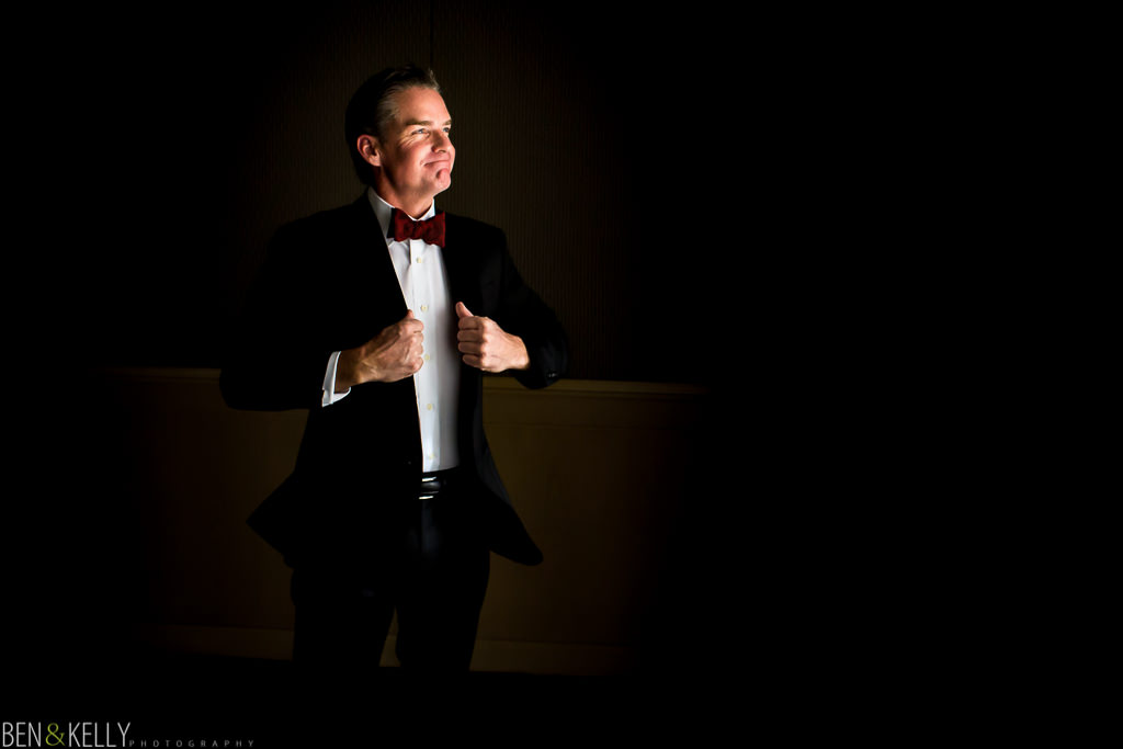 groom portrait at the phoenician - benandkellyphotography