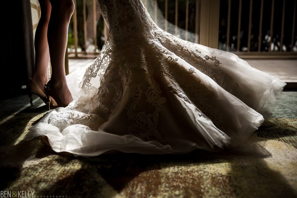 wedding dress at the phoenician - benandkellyphotography