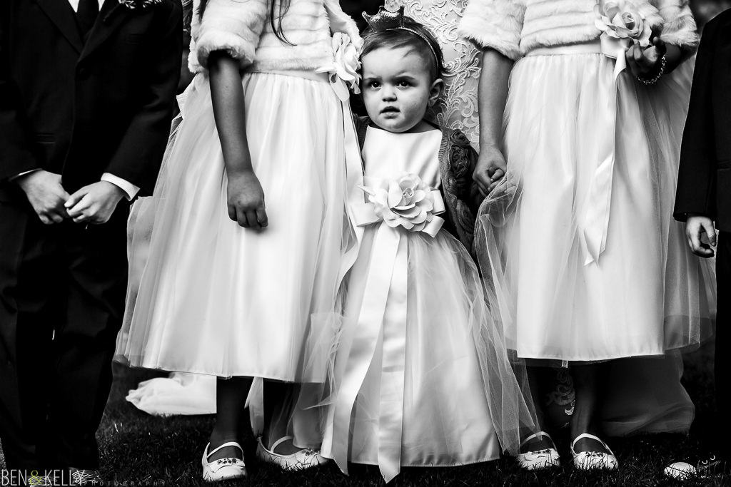 baby flower girl at the phoenician - orchid falls - benandkellyphotography