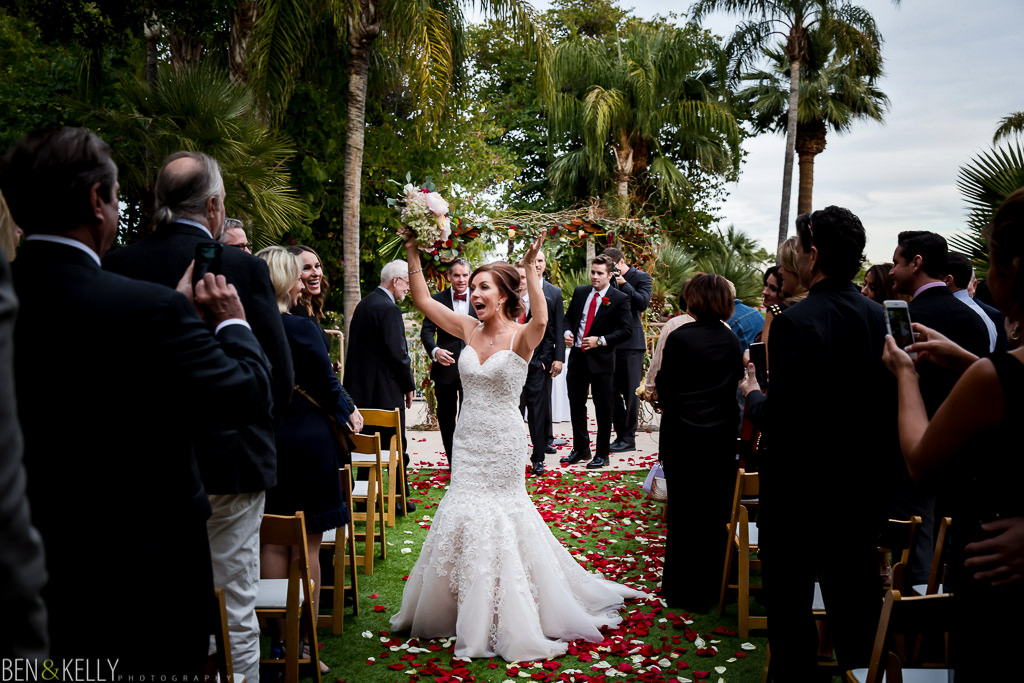 happy bride at the phoenician - wedding at the phoenician - benandkellyphotography