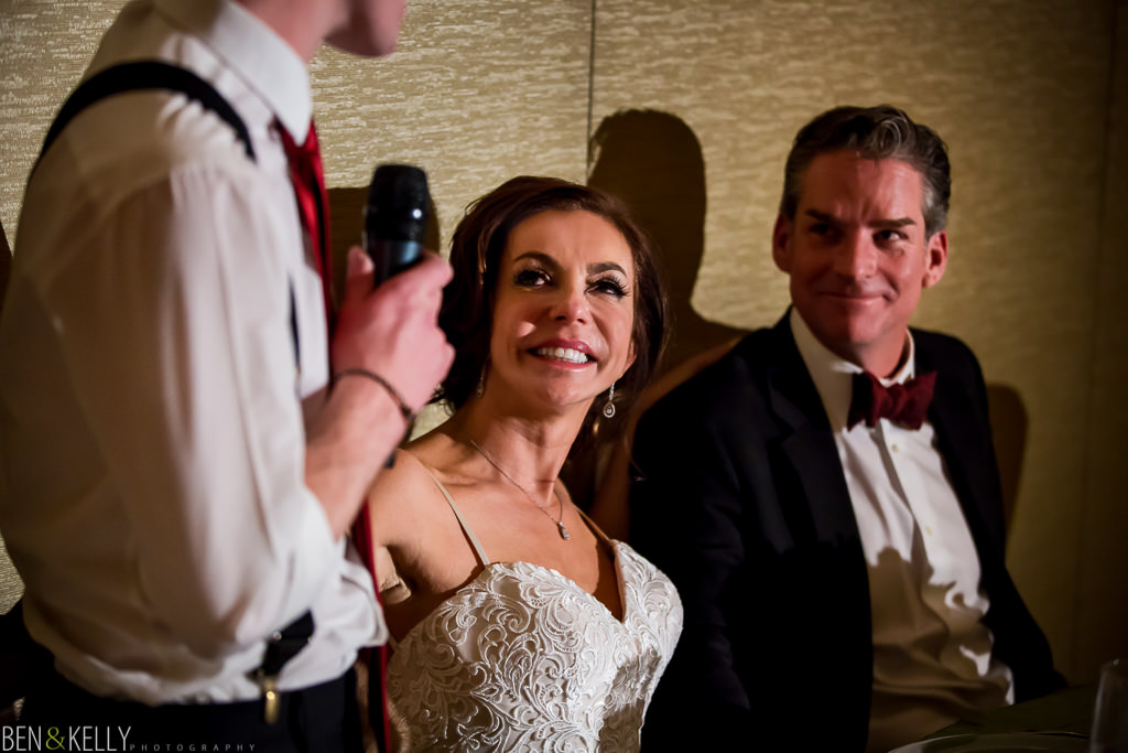 best man toast at the phoenician - wedding reception at the phoenician - benandkellyphotography