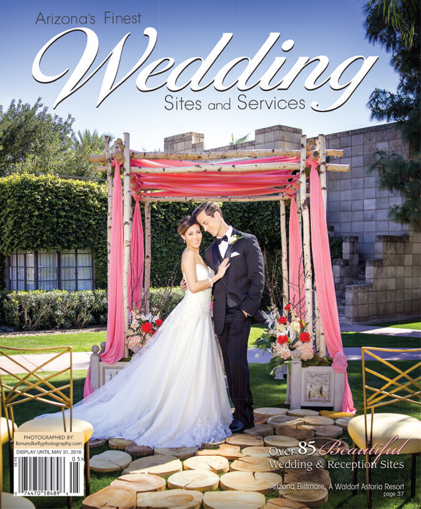 magazine cover - bridal magazine - Ben and Kelly Photography