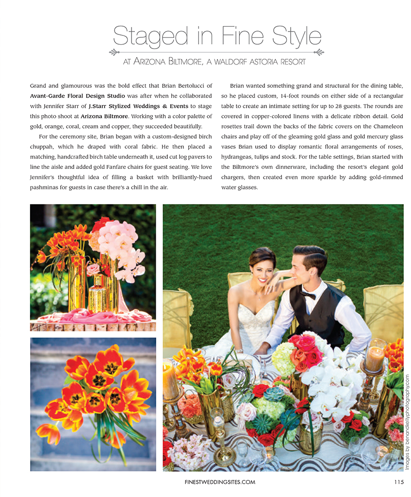 Magazine Editorial Page 1 - Ben and Kelly Photography
