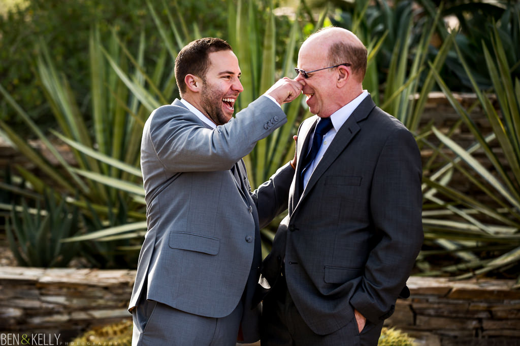 Groom and father - Ben and Kelly Photography