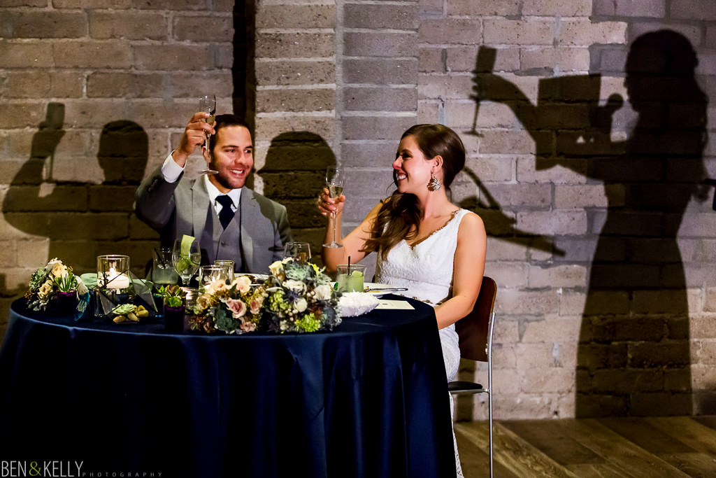 weddings at the Showcase Room - Ben and Kelly Photography