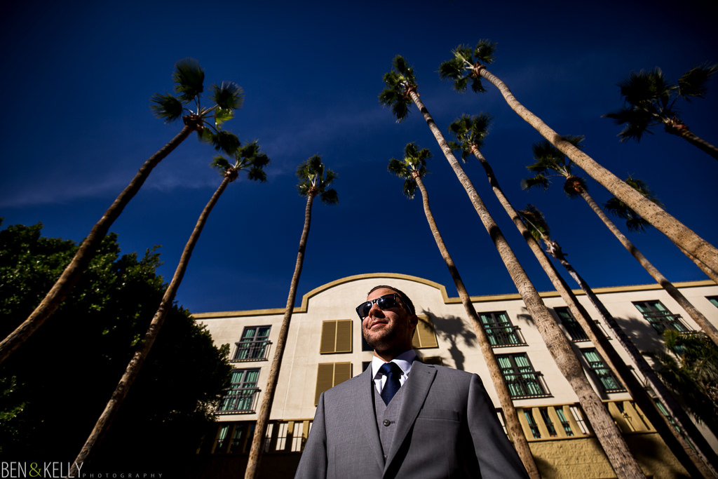 Tempe Mission Palms wedding - Ben and Kelly Photography