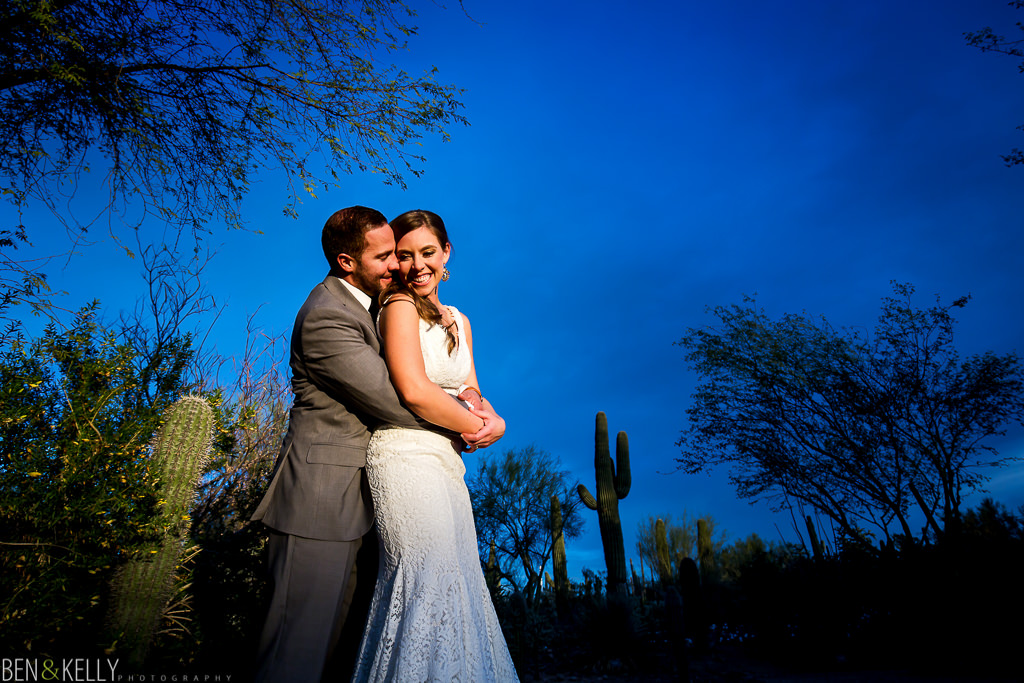 desert botanical gardens - wedding photography - Ben and Kelly Photography