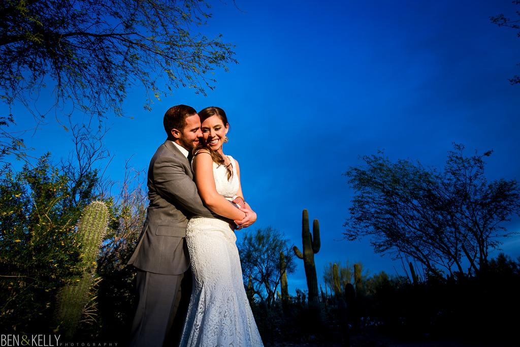 desert botanical gardens - wedding photography - Ben and Kelly Photography