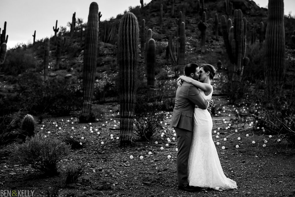wedding in the desert - Ben and Kelly Photography