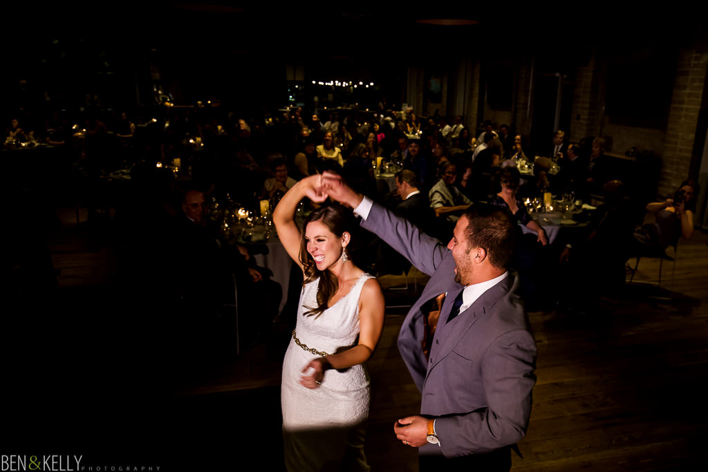 first dance - Showcase Room - Ben and Kelly Photography