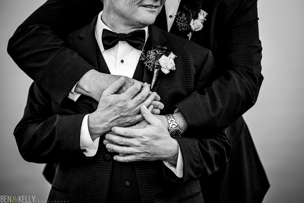 gay portrait - grooms hands - ben and kelly photography