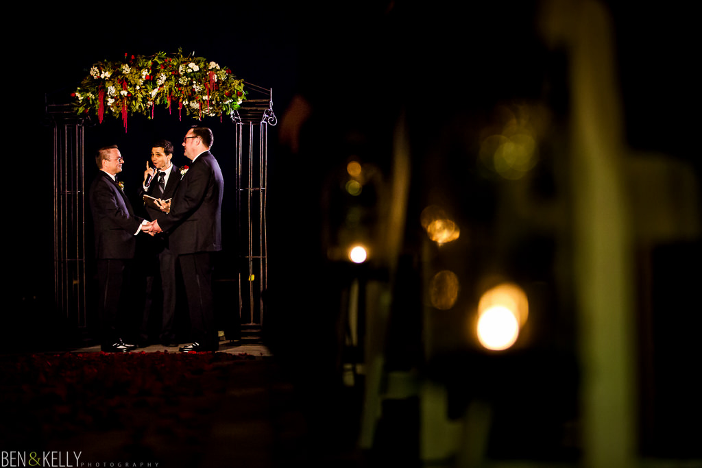 groom vows - gay wedding - scottsdale - ben and kelly photography