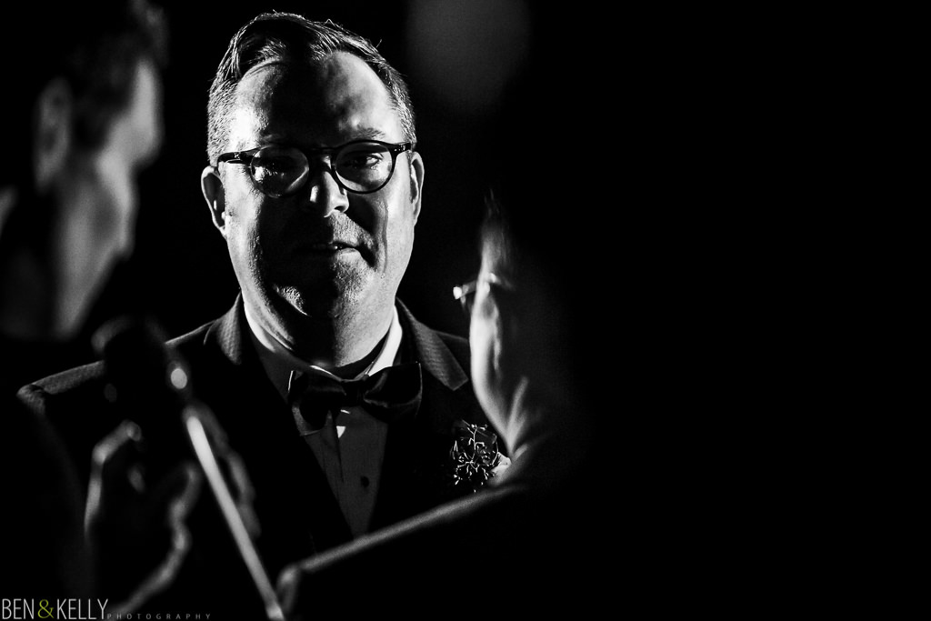 groom tears - LGBT wedding - scottsdale - ben and kelly photography