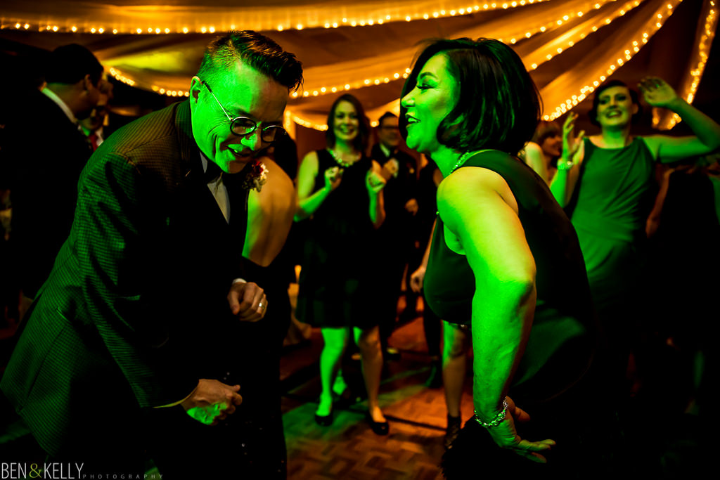 fun wedding reception - scottsdale - ben and kelly photography