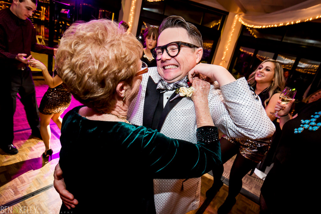mother and son - dance - gay wedding - ben and kelly photography