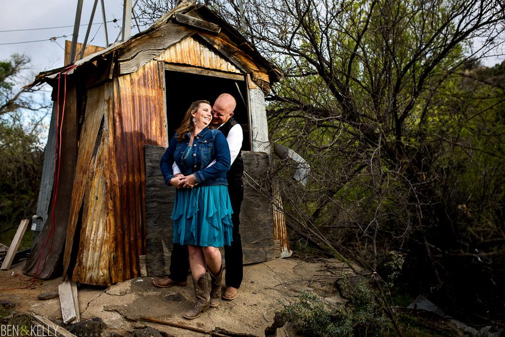 arizona engagement photo - Ben and Kelly Photography