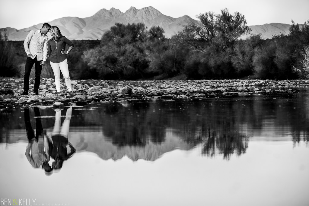 Scenic Engagement Photography - Arizona - Ben and Kelly Photography