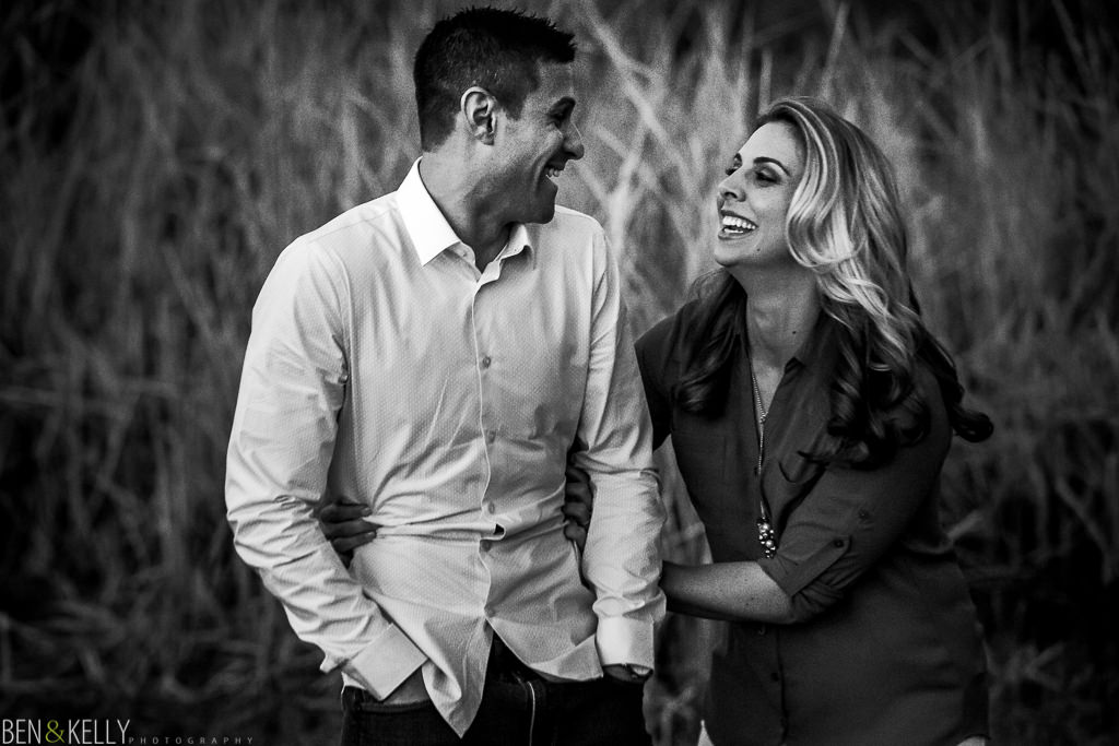 Fun Engagement Photos - Ben and Kelly Photography