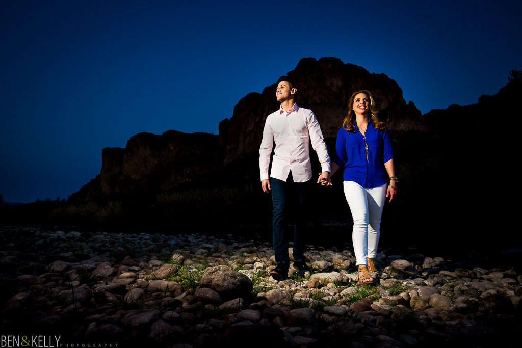 Best Engagement Photographer in Arizona - Ben and Kelly Photography