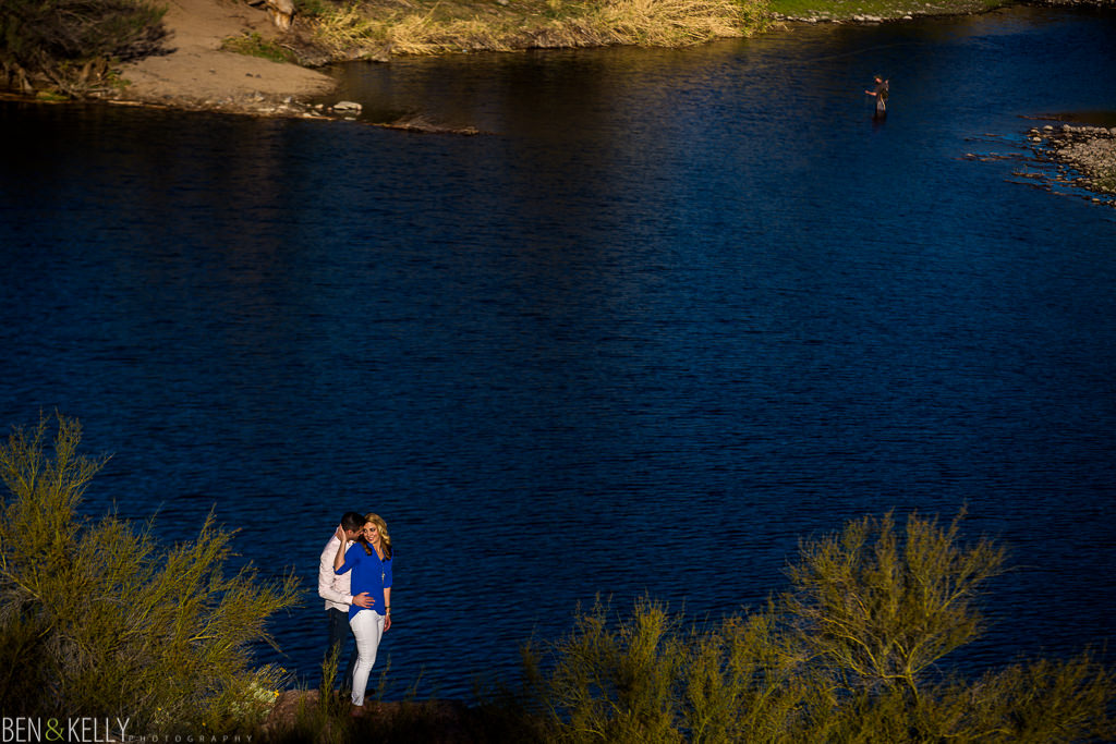 Engagement photos in Scottsdale - Ben and Kelly Photography