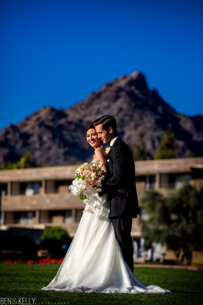 wedding at the Arizona Biltmore - Ben and Kelly Photography