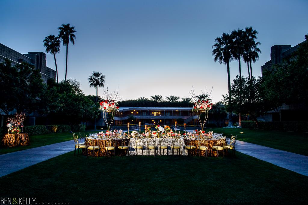 Arizona Biltmore wedding reception - Ben and Kelly Photography