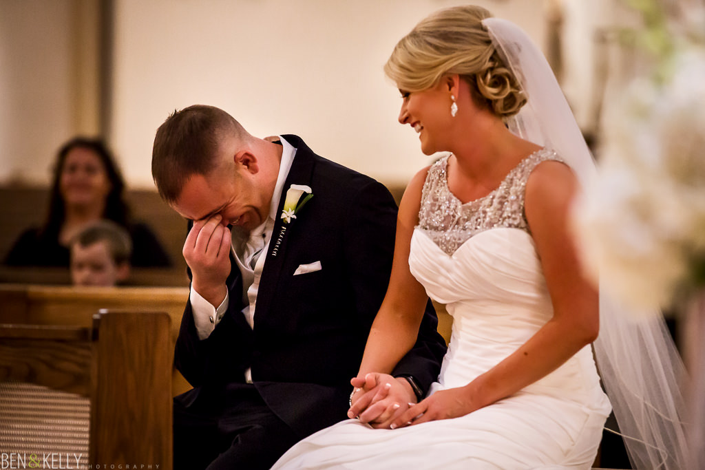 funny church wedding in Scottsdale - Ben & Kelly Photography