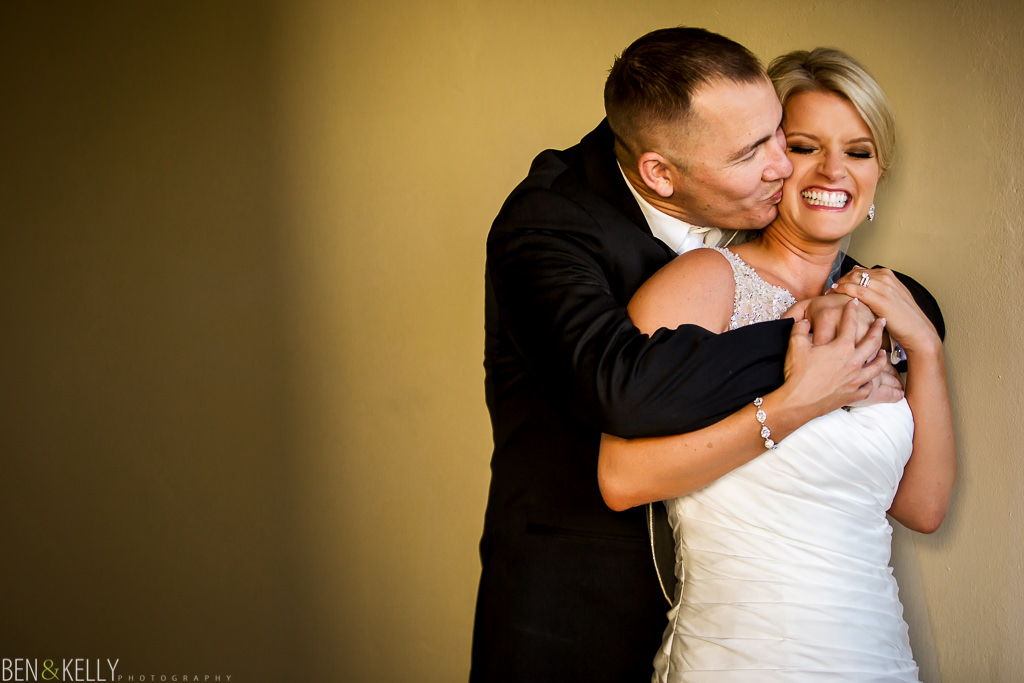 fun portrait - Fairmont Princess Wedding - Ben & Kelly Photography