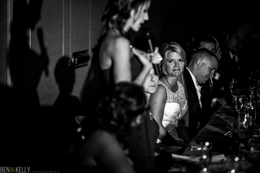 wedding reception toasts - Scottsdale Princess - Ben & Kelly Photography