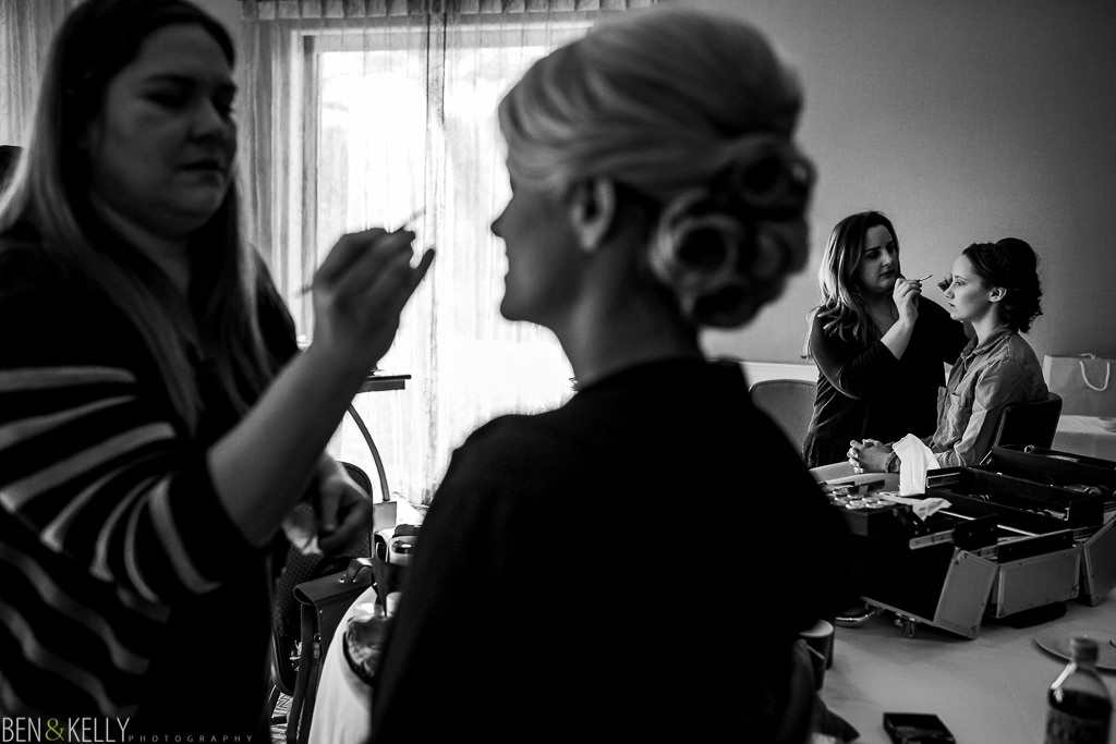 Getting Ready - fairmont princess wedding - Ben & Kelly Photography