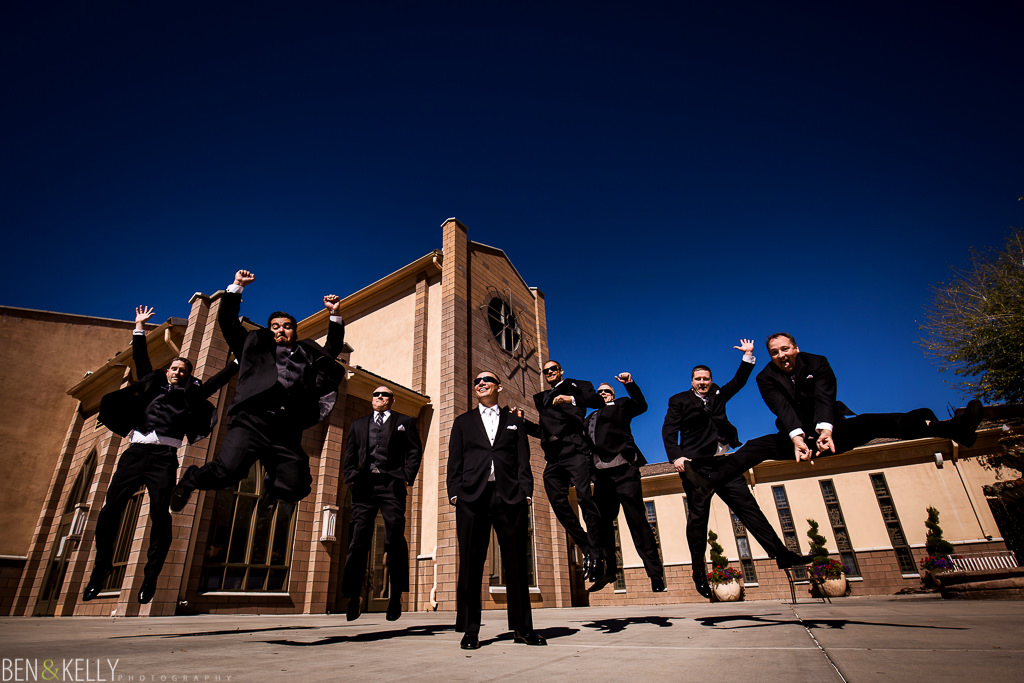 Fun Bridal Party Photo - Scottsdale - Ben & Kelly Photography