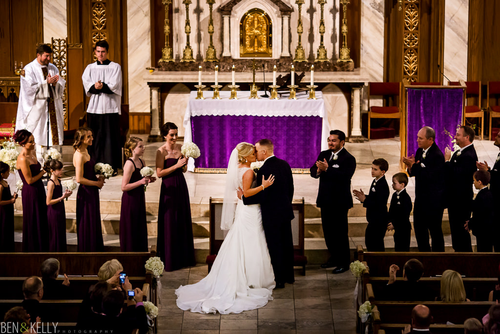 Catholic church wedding in Arizona - Ben & Kelly Photography