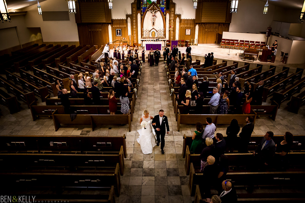 Catholic wedding in Scottsdale AZ - Ben & Kelly Photography