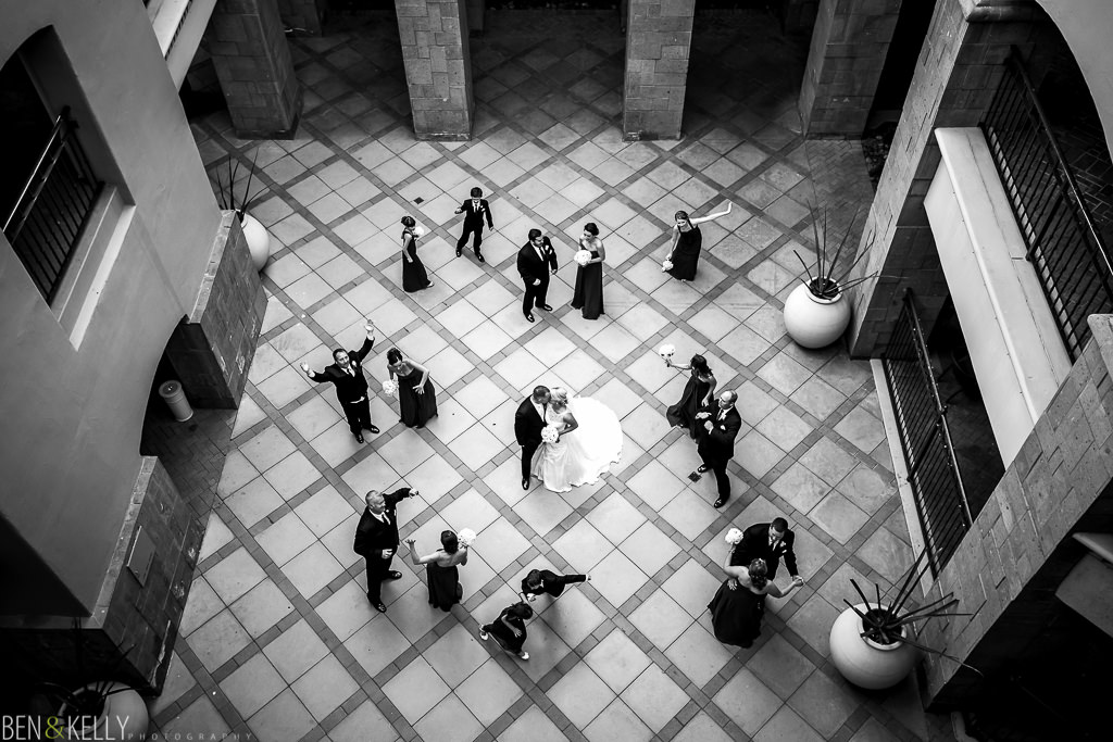Bridal party fun - Fairmont Princess - Ben & Kelly Photography