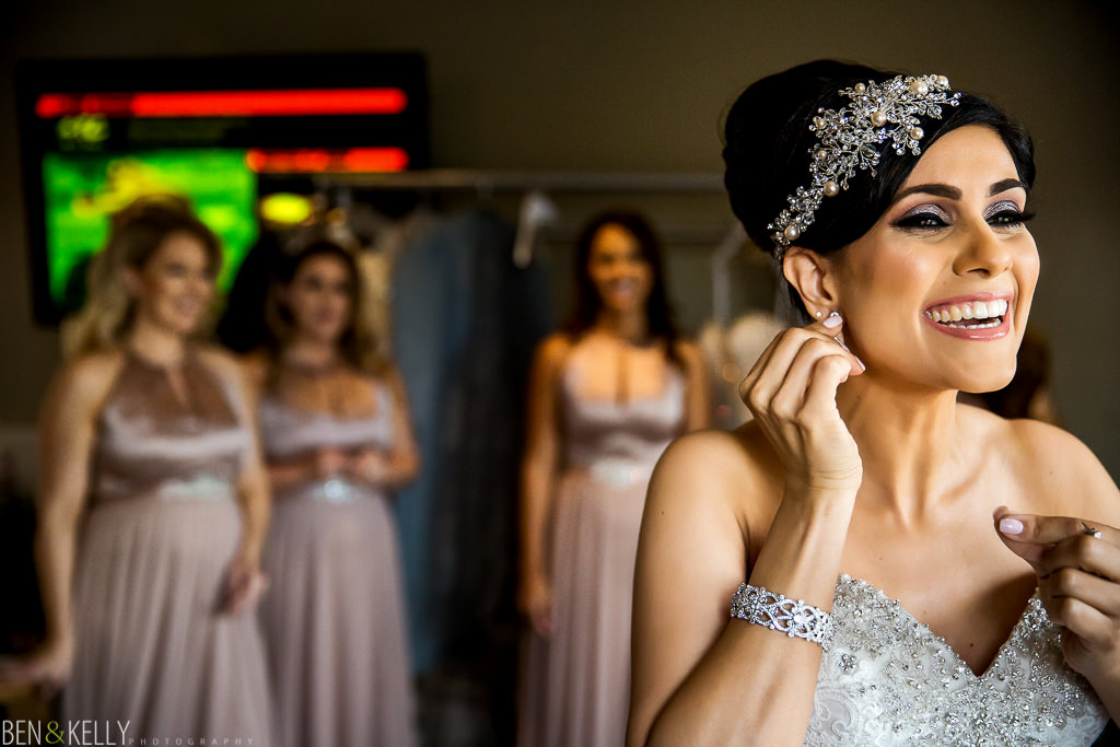 happy bride - Sanctuary Resort - Ben and Kelly Photography