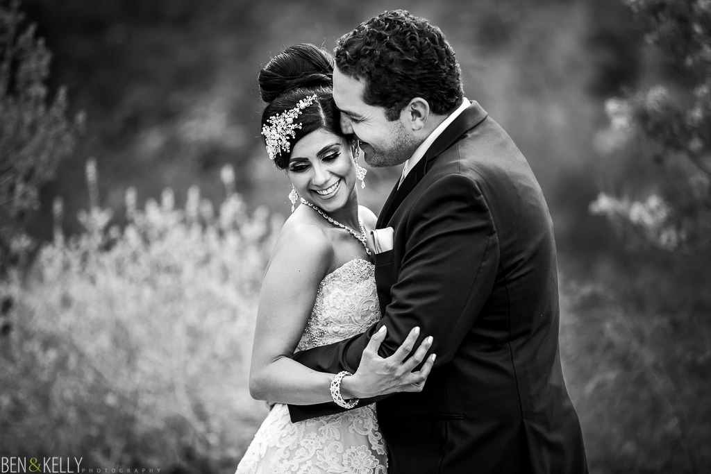 First Look - Persian Wedding - Ben and Kelly Photography