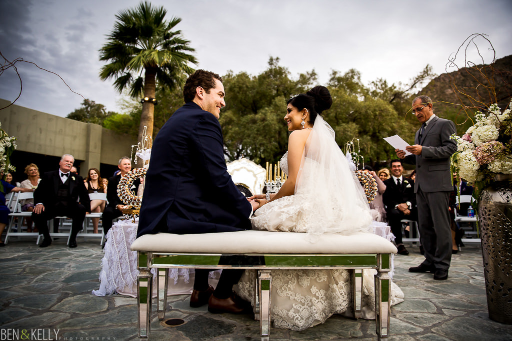 Persian Wedding Ceremony - Arizona - Ben and Kelly Photography