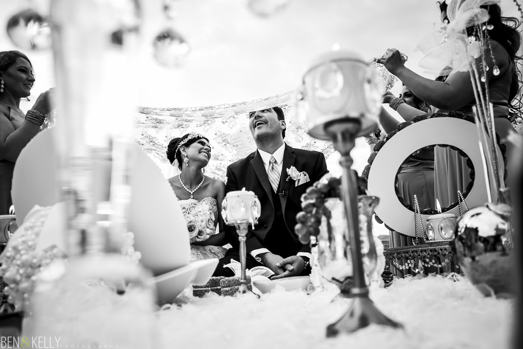 Persian Wedding Ceremony - Scottsdale - Ben and Kelly Photography