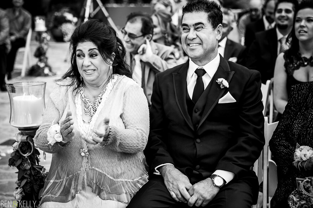 Happy Parents - Persian Wedding - Ben and Kelly Photography