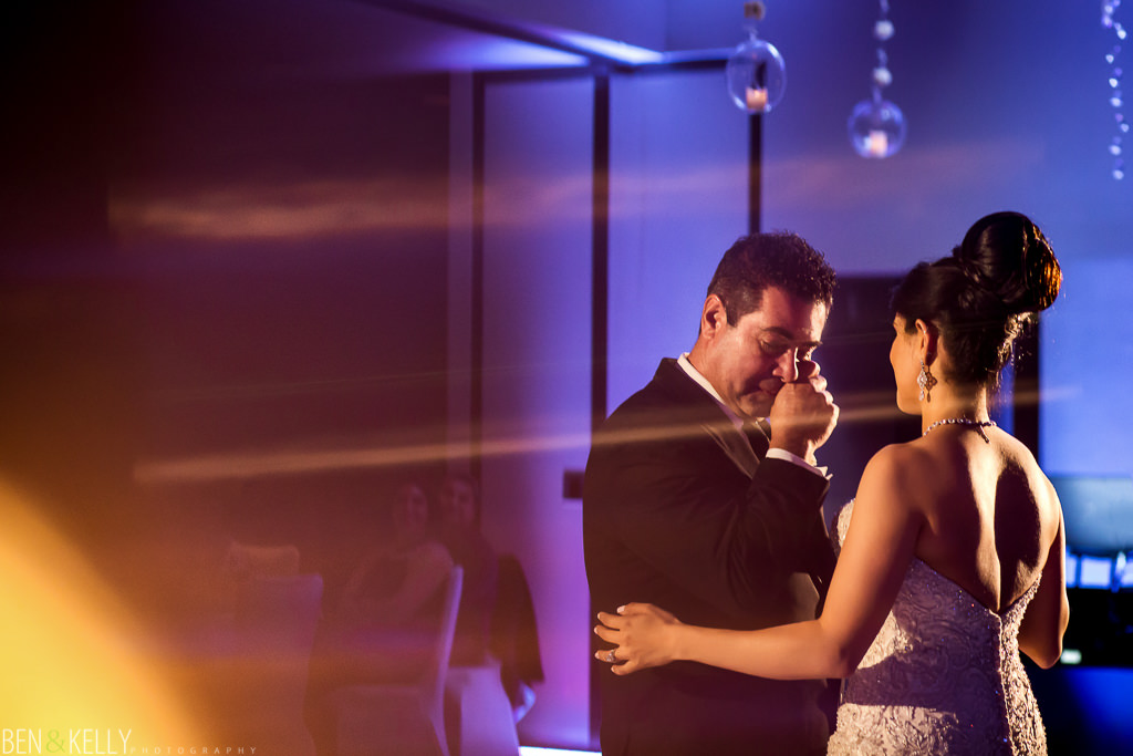 First Dance - Dad - Ben and Kelly Photography