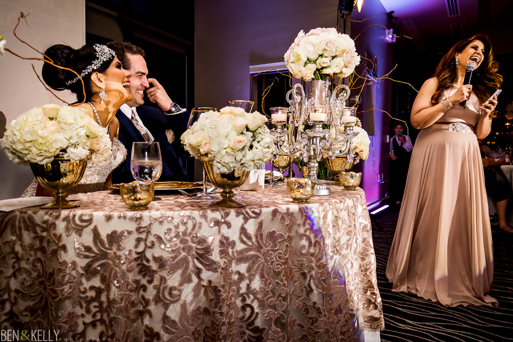 Toasts - Persian Wedding Scottsdale - Ben and Kelly Photography