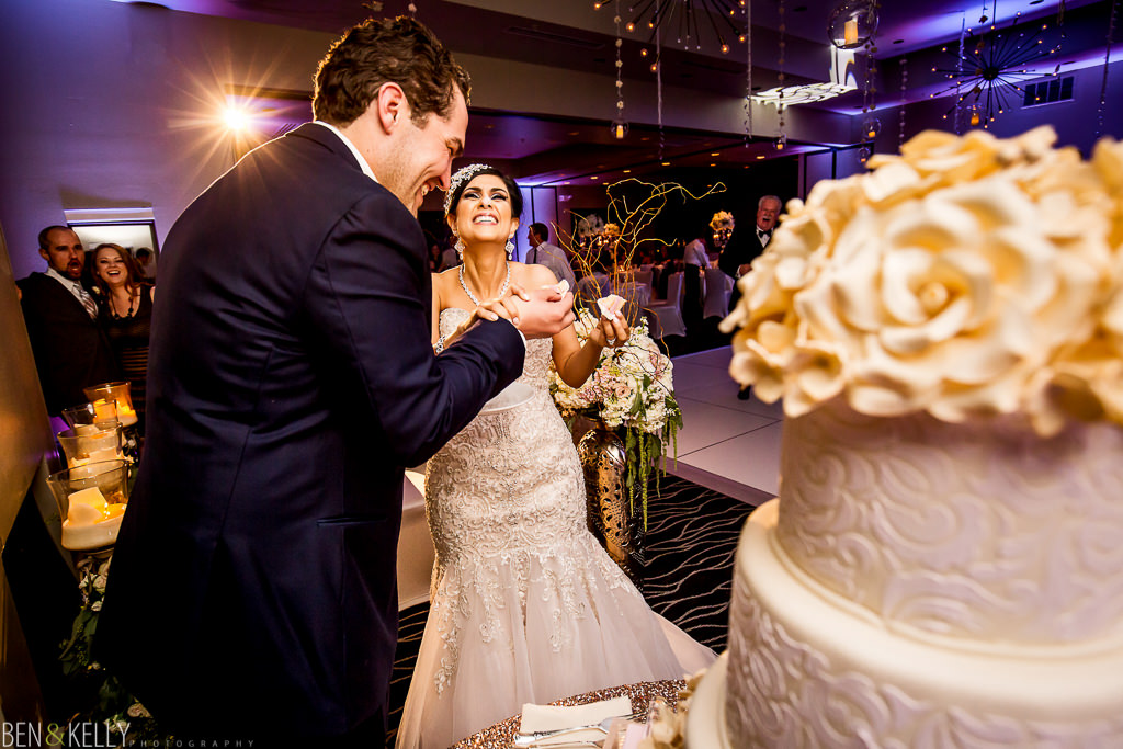 Cake Cutting - Persian Wedding - Ben and Kelly Photography