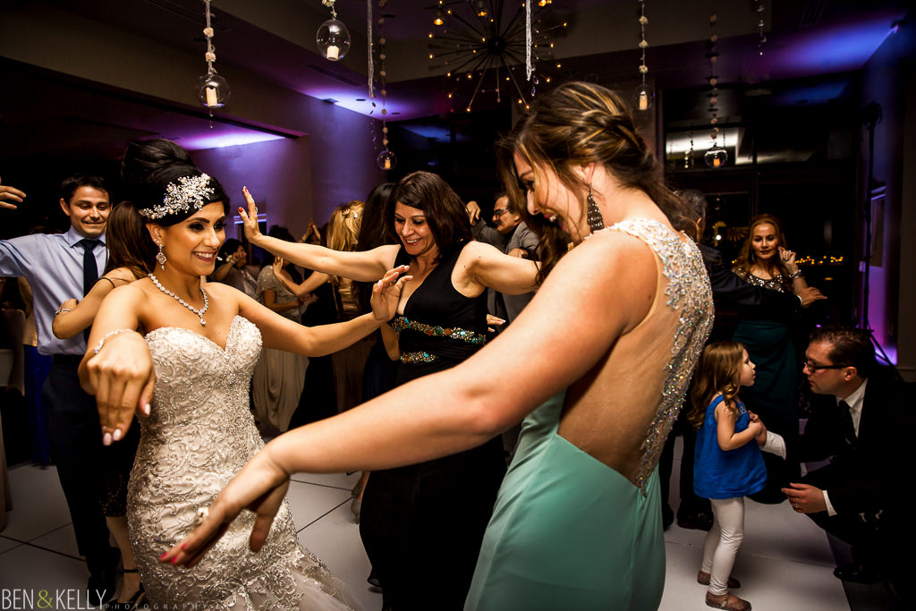 Persian Wedding Reception - Dancing - Ben and Kelly Photography