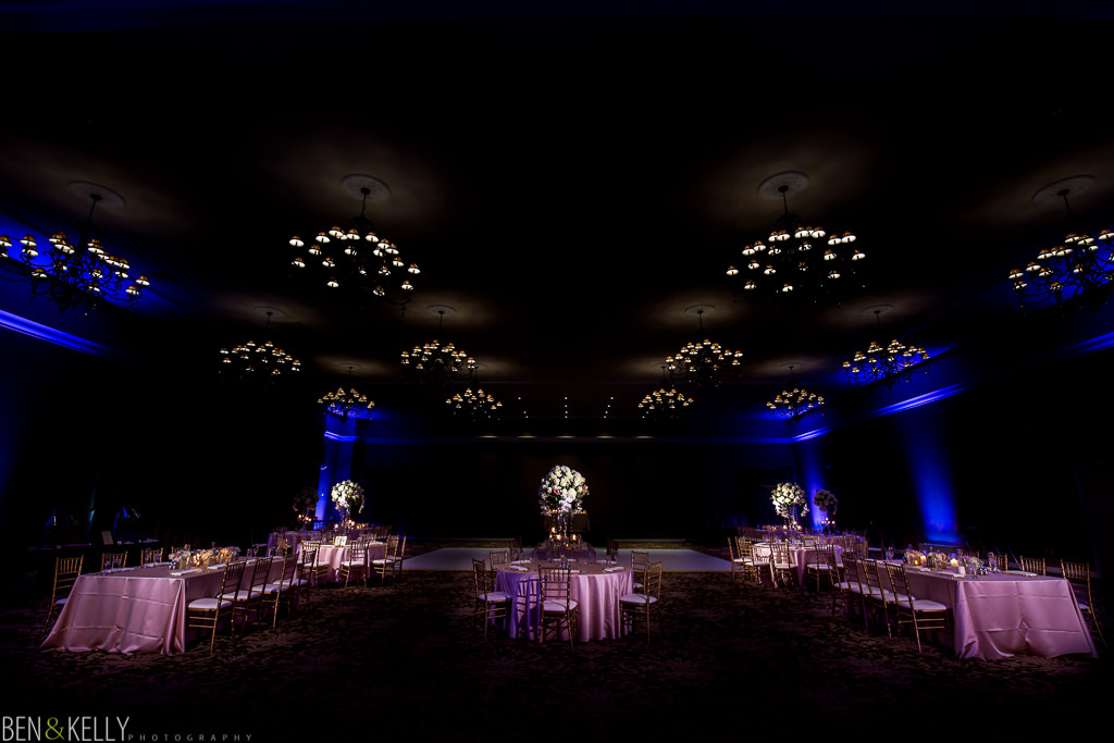 wedding reception at Chateau Luxe in Phoenix - Ben and Kelly Photography