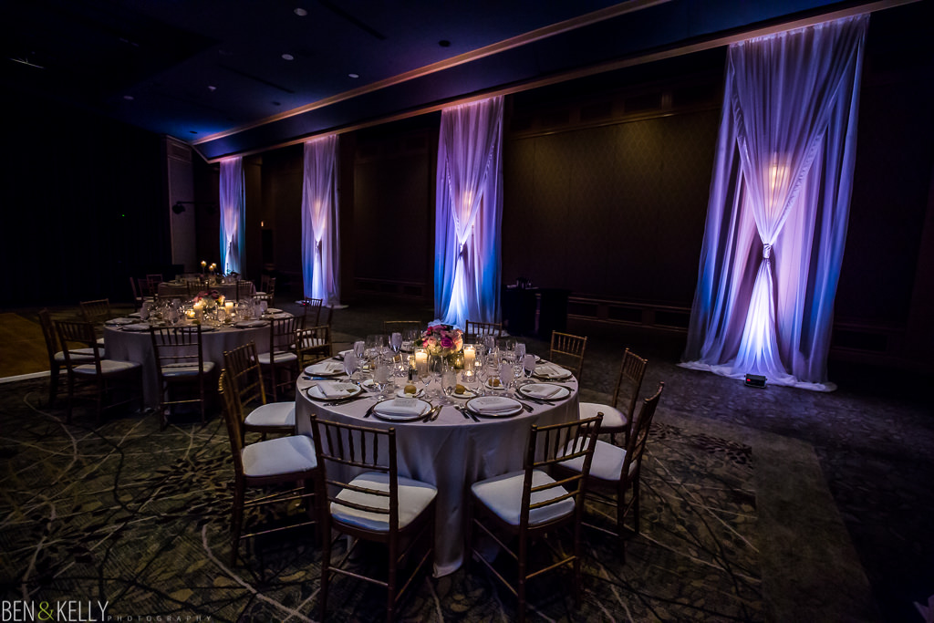 Wedding reception at The Phoenician - Ben and Kelly Photography